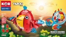 GEOMAG - KOR Tazoo TOCO - 86 dílků
