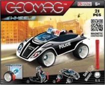 GEOMAG - Wheels Fastcar 781 - Policejní auto