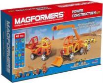 MAGFORMERS Power Construction - Stavební auta