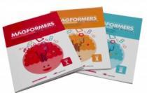 MAGFORMERS - Sada 3 pracovních sešitů do matematiky anglicky