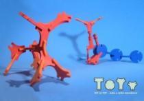 MALÝ GÉNIUS 3D pěnová - Toy to Toy - Malá