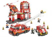 SLUBAN Požární stanice