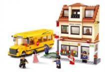 SLUBAN Školní autobus a škola