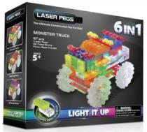 LASER PEGS Monster Trucky 6v1