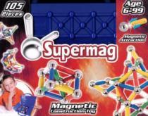 SUPERMAG Kufřík - 105 dílků