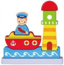 Magnetická skládačka pro děti - Moře