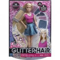 Mattel Barbie třpytivé vlasy