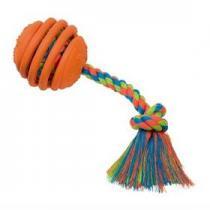 Nobby Rubber Line míč s lanem guma 30cm