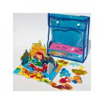 Meadow Kids Pěnové hračky do vany - Mořská panna