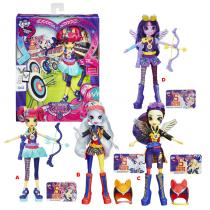 Hasbro My Little Pony Equestria Girls Shadowbolts sportovní panenka