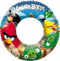 BESTWAY Nafukovací kruh Angry Birds 56cm