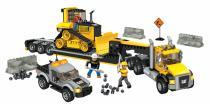 Mega Bloks CAT - Stavební stroje s tahačem