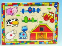 Mikro Trading Vkládačka farma dřevo s traktorem