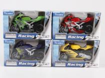 Teama Závodní motorka 1:18