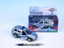 Mikro Trading Auto policie Volvo se světlem a zvukem cca 14cm kov