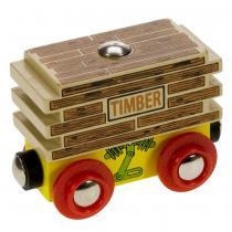 Maxim Vagon se dřevem