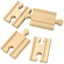 Maxim 5 cm rovné koleje - spojky - 4 kusy 50901