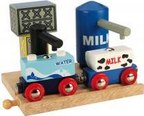 Bigjigs Skladiště mléka a vody - Bigjigs 70187