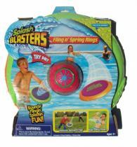 Alltoys CZ Splash Blaster vodní bomba + 2 létající disky