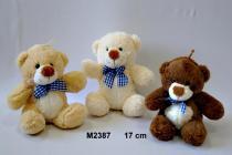 Vizopol Plyšový medvídek s poutkem - 17 cm
