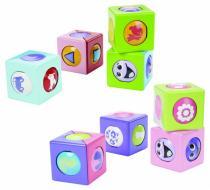 Mattel Stavební kostky s kuličkou veselé stavební kostky s kuličkou