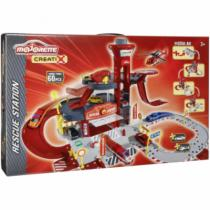 Majorette Creatix Rescue Station 1 Heli + Car