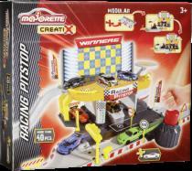 Majorette Creatix Racing Pitstop + 1 Car