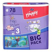 Bella Baby Happy Midi Big Pack 78 ks