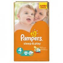 Pampers Sleep&Play 4 MAXI 68ks