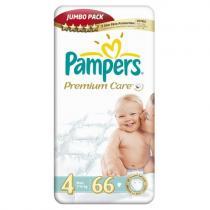 Pampers Premium Care 4 MAXI 66ks