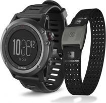 Garmin - Fenix 3 Gray HR Optic