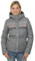 Roxy Freedom Stripe KPGH/Charcoal Heather