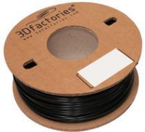 3D Factories ABS černá 1,75 mm 1 Kg