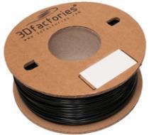 3D Factories PLA černá 1,75 mm 1 Kg