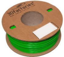 3D Factories PLA zelená 1,75mm 1 Kg