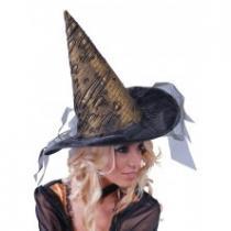 Čarodějnický klobouk zlatý