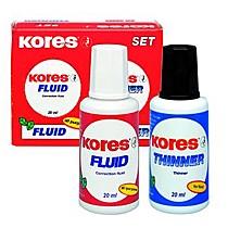 Opravný lak KORES Fluid 20 ml