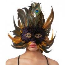 Péřová maska