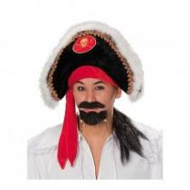 Pirát - klobouk se zdobením