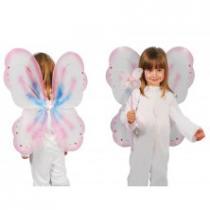 Růžová motýlí křídla