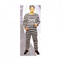 Vězeň Kostým s čepičkou