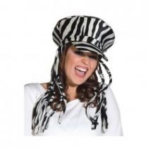 Zebra čepice