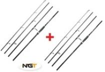 NGT Dynamic Travel Carp 11ft, 4pc