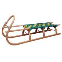 SULOV Sáně 125 cm dřevěné