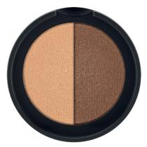 Minerální oční stíny Duo (Cashmere & Copper) 2 x 1,25 g