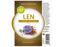 AWA superfoods Lněné semínko loupané 1000g