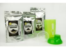 AWA superfoods Ječmen 200g + Spirulina 200g +Chlorella 200g