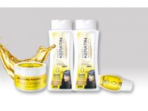 Beauty Lashes Sada Keratin Argan oil 4ks