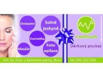 AWA Brno Dárkový poukaz na masáž