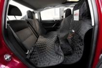 Reedog ochranný autopotah pro psy na zip - černý